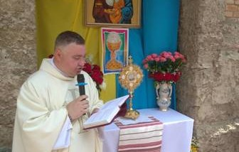 Вітання для о. Олександра в День Священства